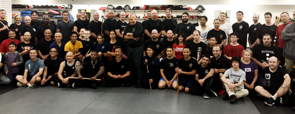 Grand Master Taboada (Standing Center) and a group of slightly less handsome people at West Coast Camp 2016