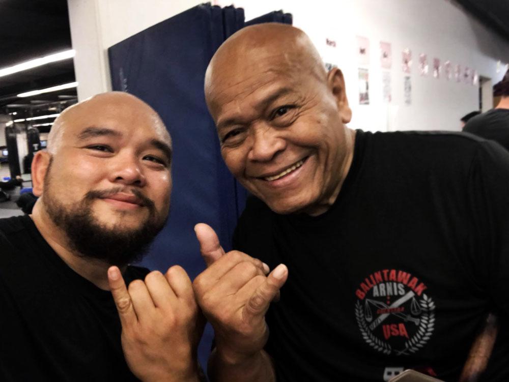Guro Belton Lubas with GM Bobby Taboada