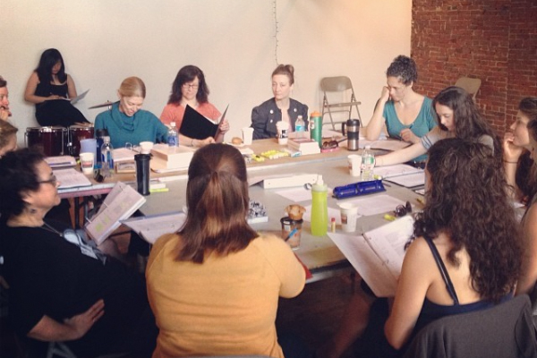 King Lear - An all-female staged reading at The Painted BrideMay 12, 2014
