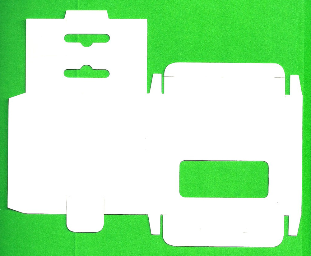 H.Stalska_Scan of Flattened Box on Green Background.