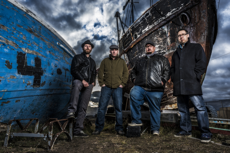 "Gala attendees will be rocked by the Trade Offs, Iqaluit's ""Arctic Soul Funk Assassins."""