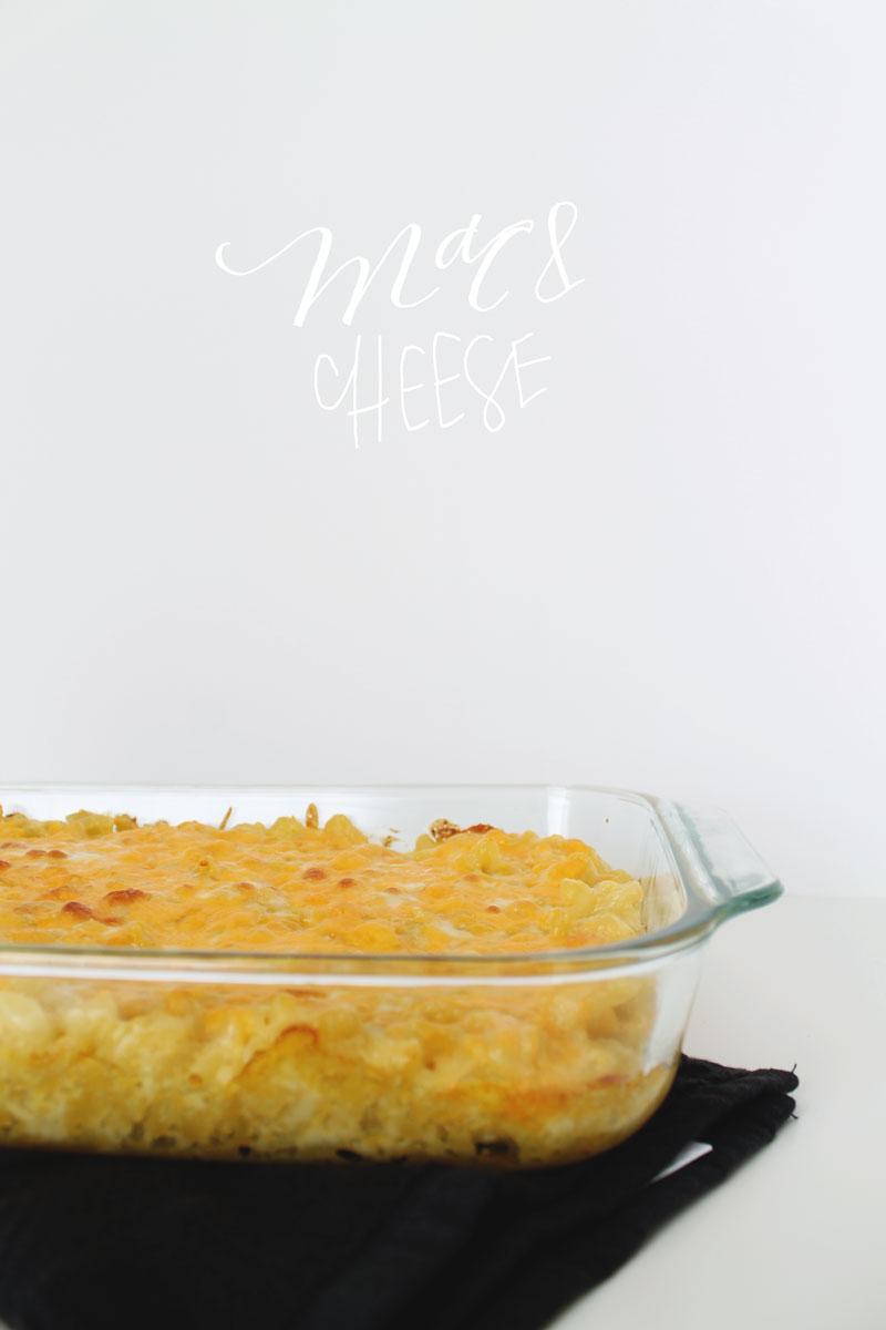 Homemade Mac & Cheese - Pommel Lane