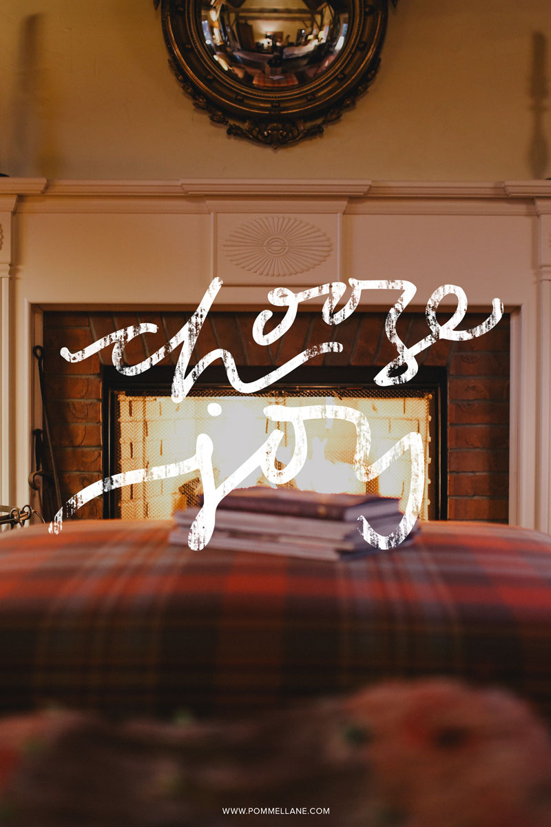 Choose Joy  |  Lettering by Pommel Lane  |  Image by Death to the Stock Photo  |  #quote #quotes #handlettering