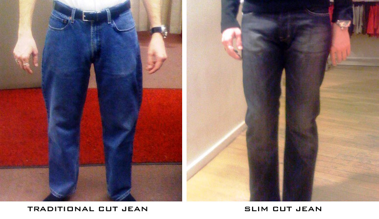 Slim cut vs. regular fit