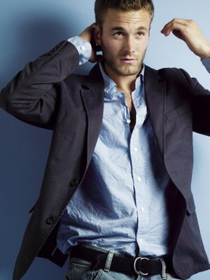The combination that put casual chic on the trend map, jeans and a blazer. The rope belt pairs very well with the linen shirt and cotton blazer. All by Gap.