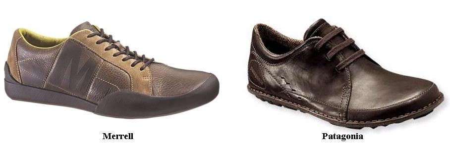 Men's comfort footwear - Merrell & Patagonia