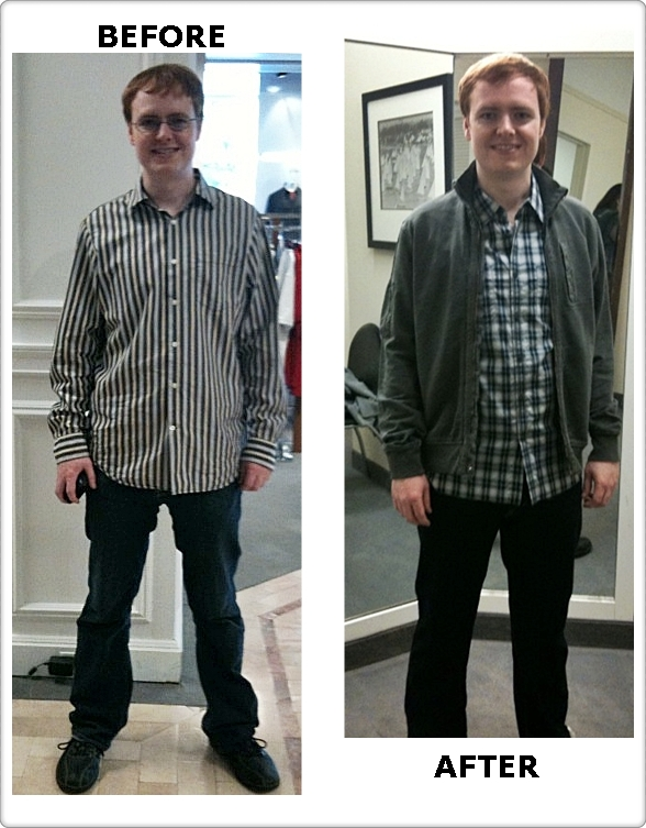 Quickie makeover weekend casual emmi sorokin for Casual button down shirts untucked