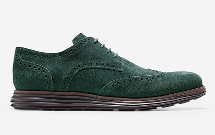waterproof wingtip sneaker