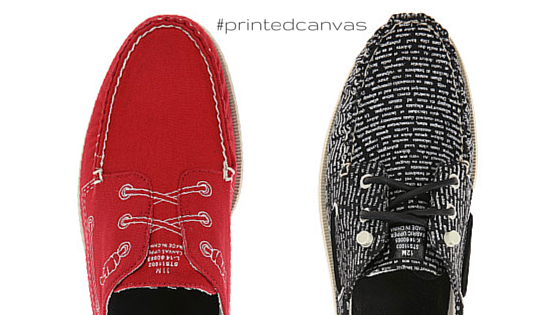 printed shoes