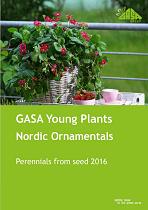 GASA Young Plants & Nordic Ornamentals Perrenials from seed 2016
