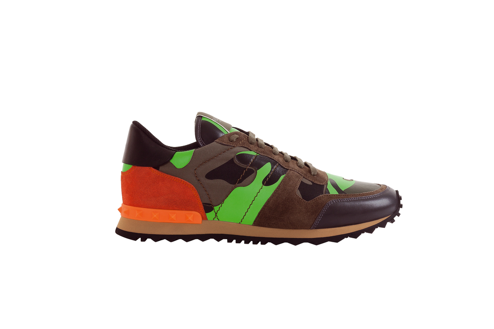 Rockrunner Fluo Camouflage, by VALENTINO
