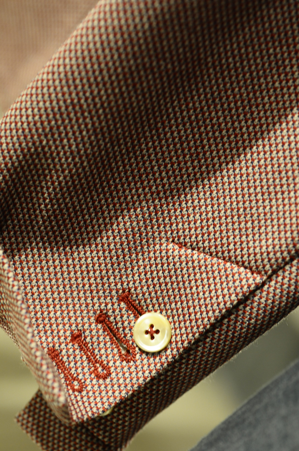 Sartorial details by SEVENTY