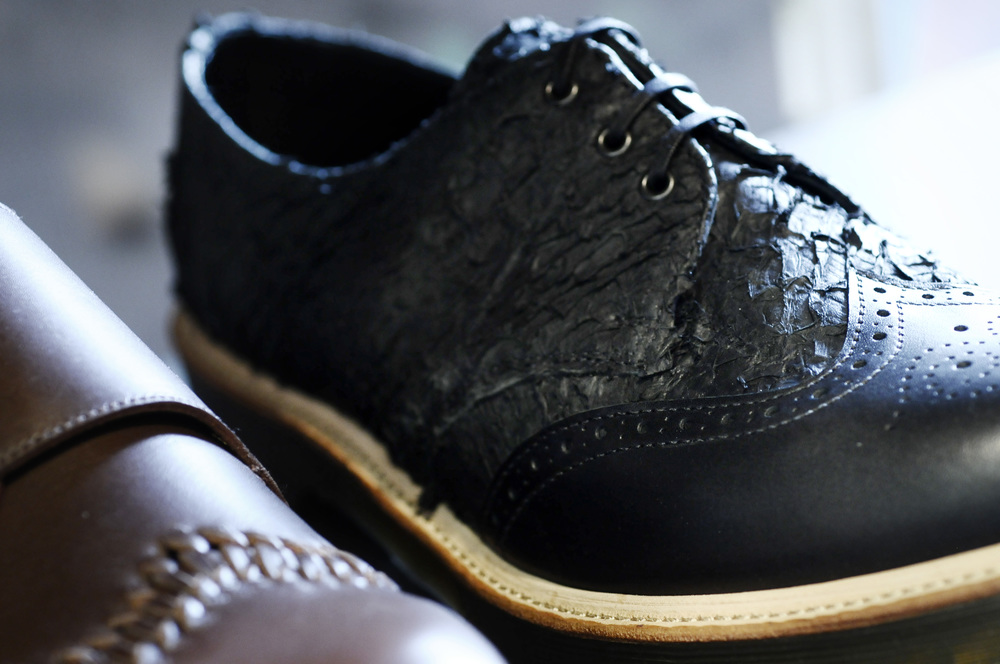 Updated derby shoes by CRAFTED BY DR MARTENS