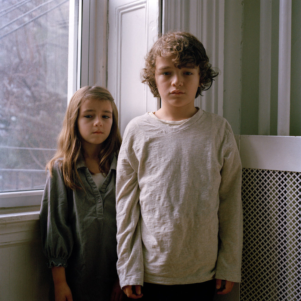 Kate, 6 and Max, 8