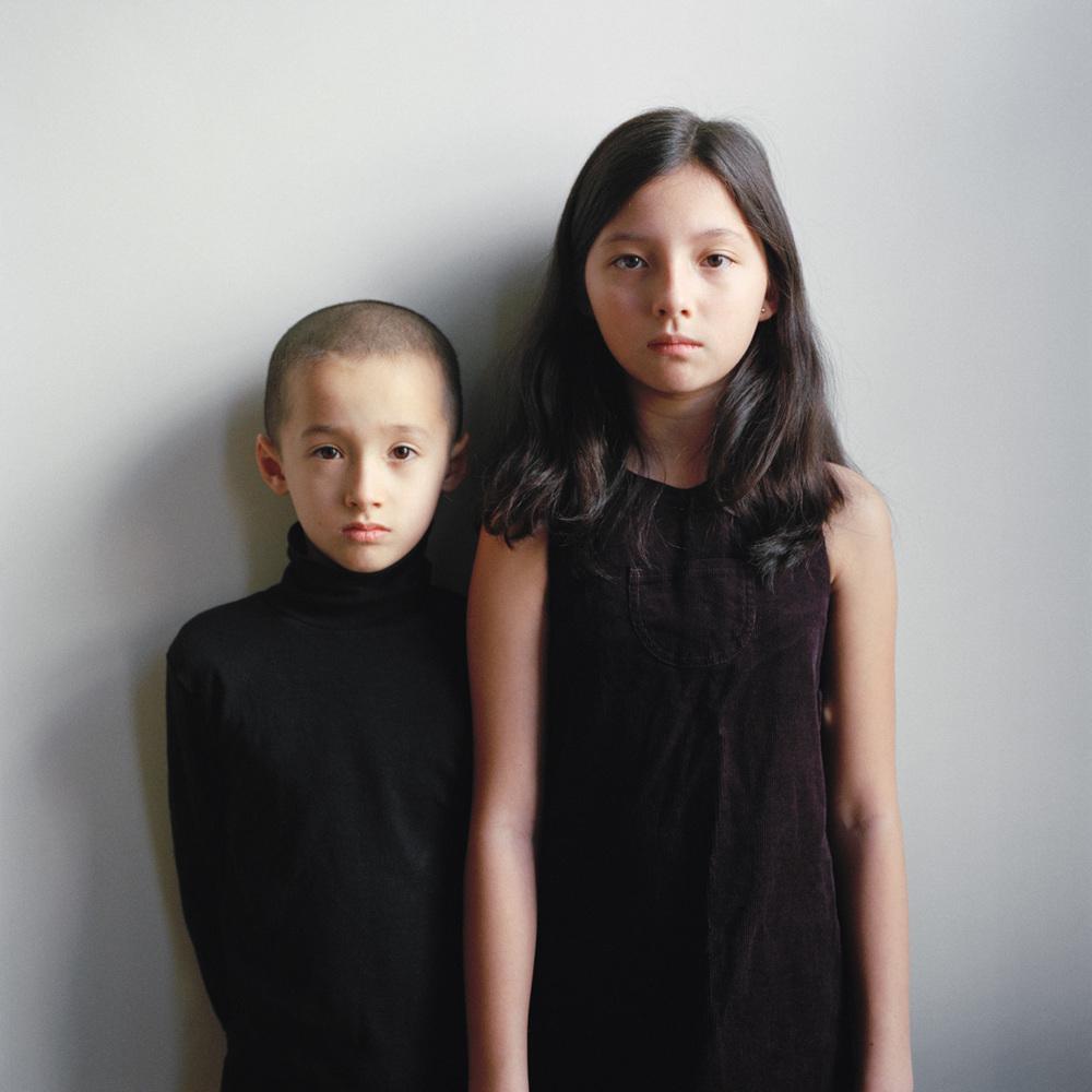 Sebastian, 7 and India, 9
