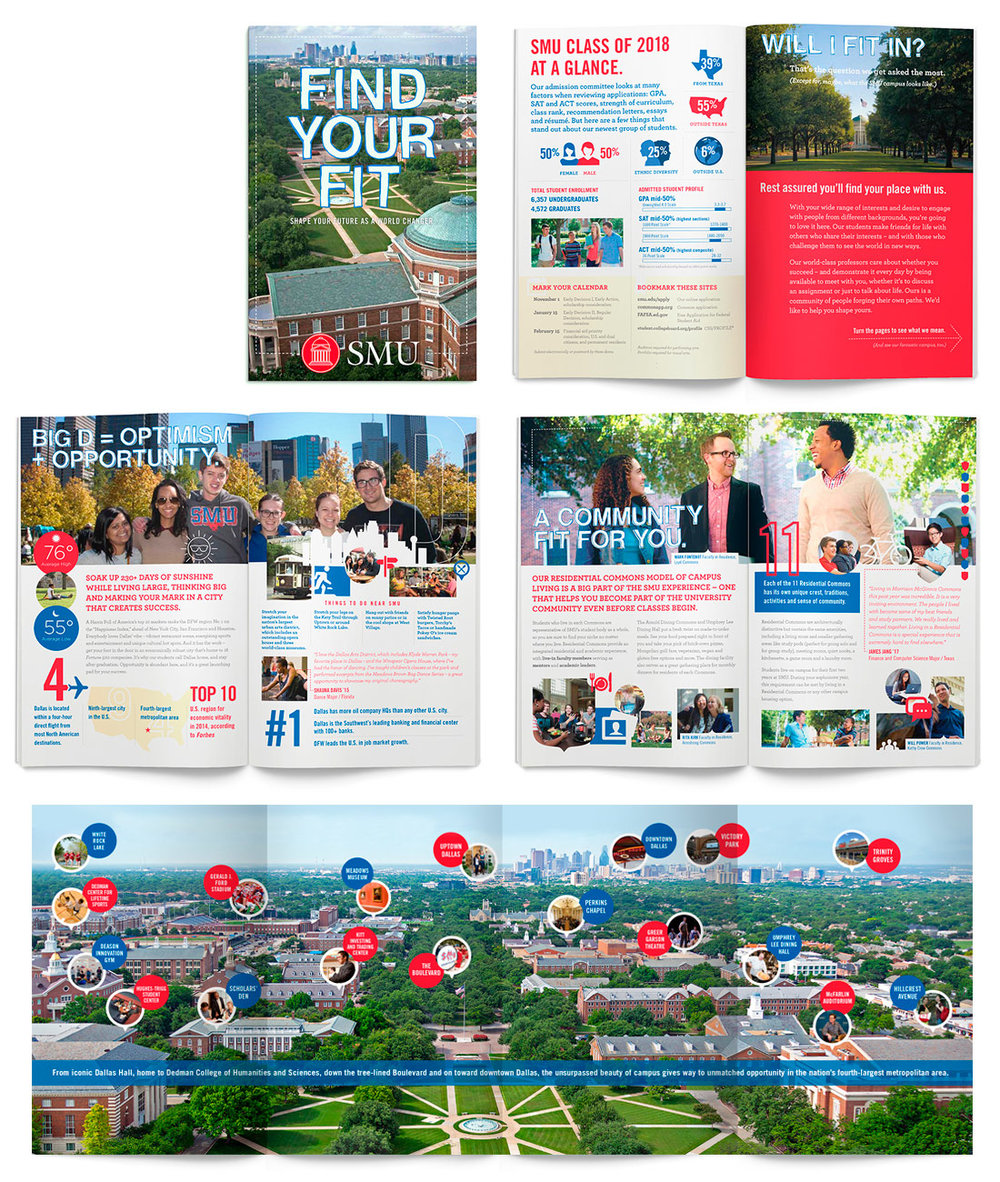 Admissions Traveling Brochure