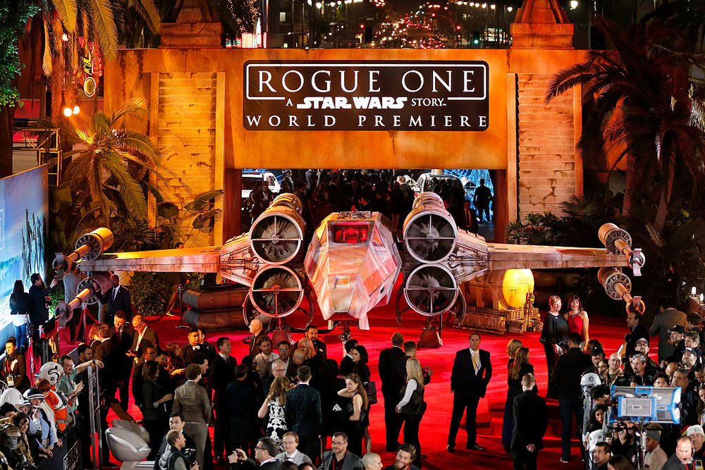 Rogue One World Premiere