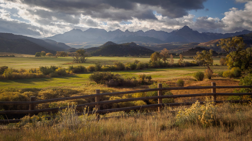 Ralph Lauren's ranch near Ridgway, CO.