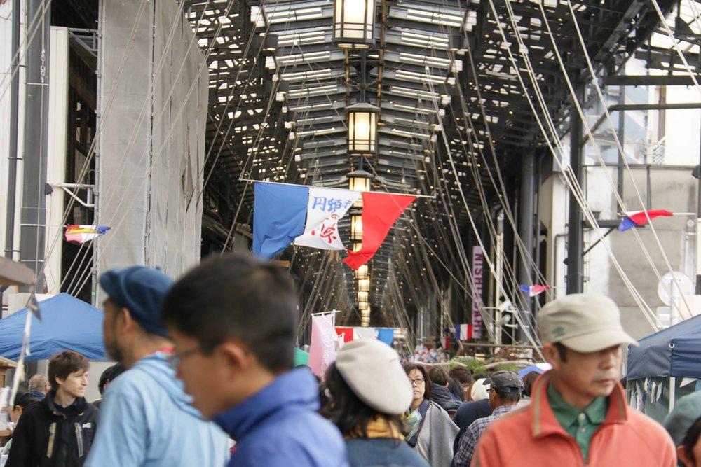 堀川から円頓寺秋のパリ祭へ
