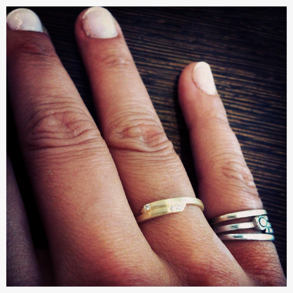 Surma RIngs - Gold and Diamonds