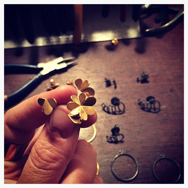 #saturday  #danishcraft     #jewelry     #inthemaking     #leifoojewelry     #bandofjules