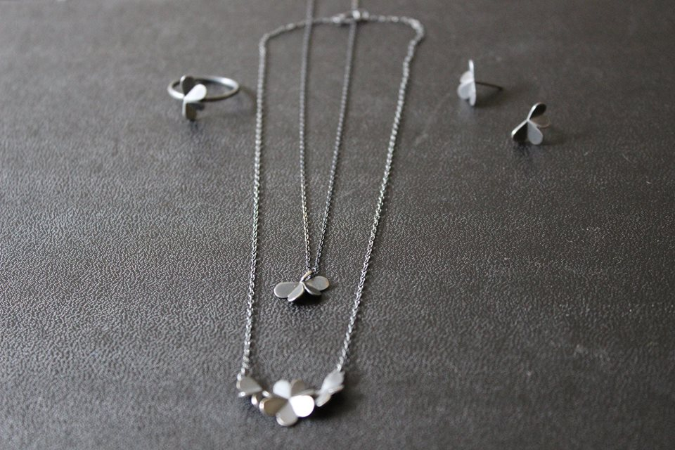 #leifoojewelry     #jewelry     #oxidezedjewelry     #style  #delicate     #clovers     #collection