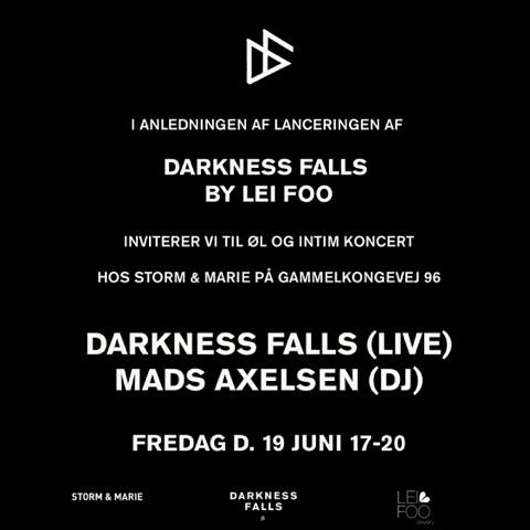 #Releaseparty #greatmusic #fridaynight #darknessfalls#leifoojewelry #passion #seeyouthere