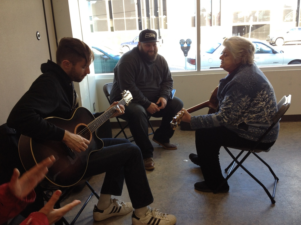 Josh and Marshall are joined by one of The Lighthouse patrons who sang and played some amazing music for us all!
