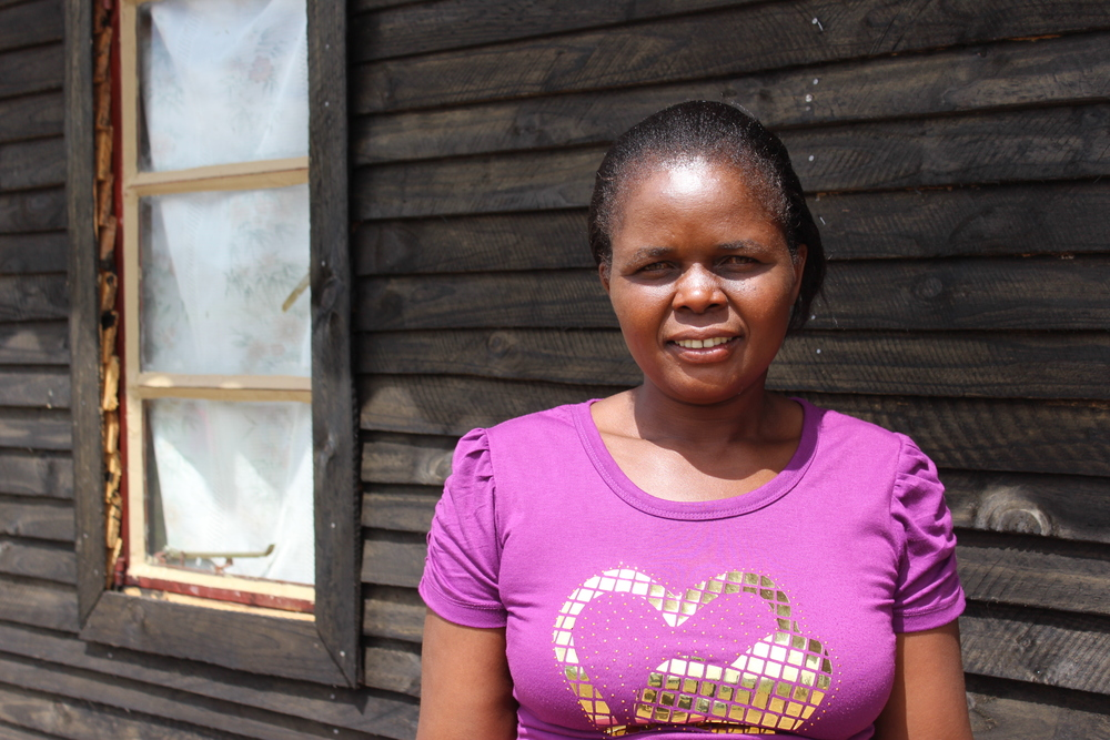 Florence, one of the care workers in Sukubva, Zimbabwe who brings the hope and love of Christ to the children and families she visits and cares for.