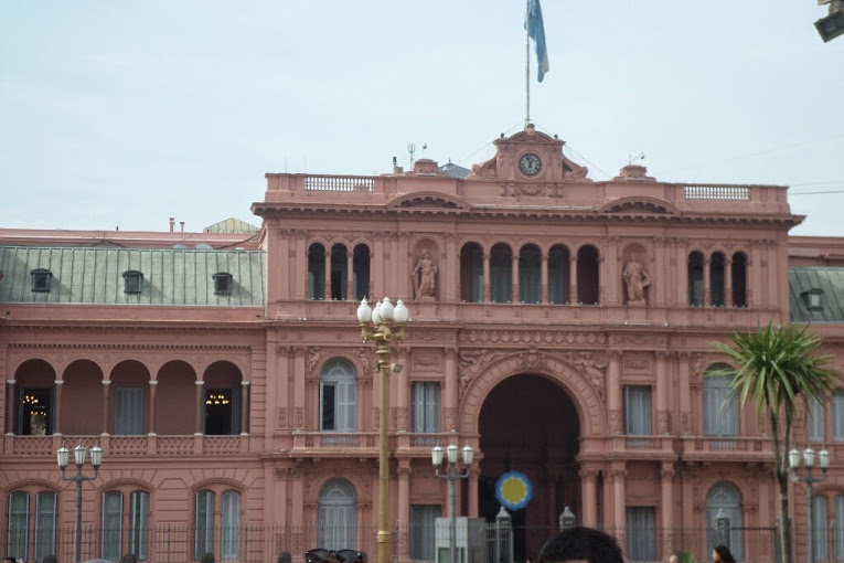 Pink House - the mansion and office of the President of Argentina