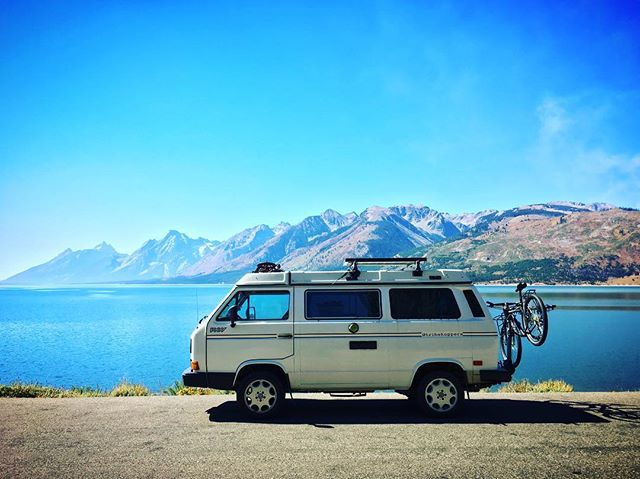 #roadtrip #tribehoppers #tetons