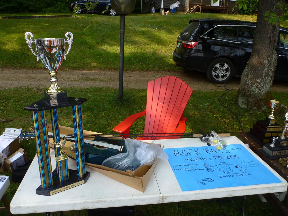 Rock Bass Tournament Trophy