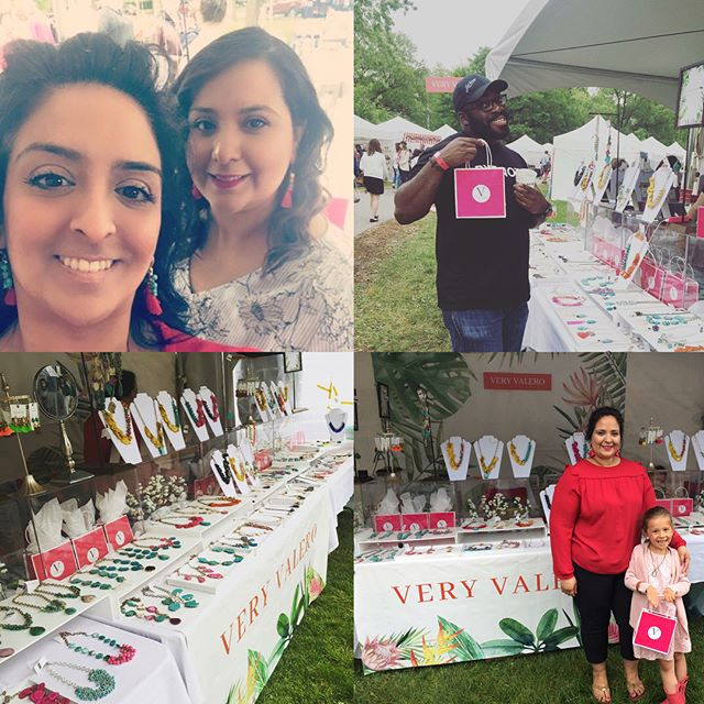 Thank you Art In The Park Windsor for another awesome year!  I can't believe this has been our 6th year as an exhibitor.  I love this Windsor tradition and we look forward to next year! A big thank you to my amazing family especially @meighanvalero for all your help and @alonsomendez @feministspice @37stephanie and for all our fun visitors and to our awesome neighbours @oceanbottom 💜🎈 #gratitude #thankyou #thankyouwindsor #519 #ontario #artinthepark #statementjewelry #handmade #veryvalero #jewels #instalove #instalike #family #statementearrings #tassels #