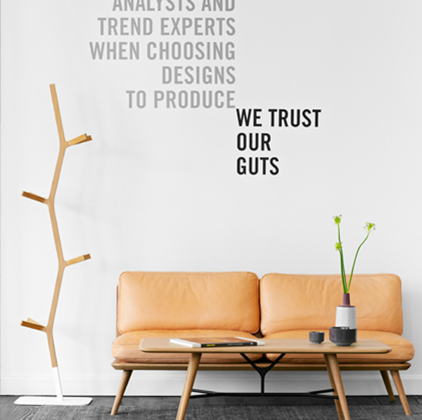 ADVERTISING//  Rebranding Fredericia Furniture