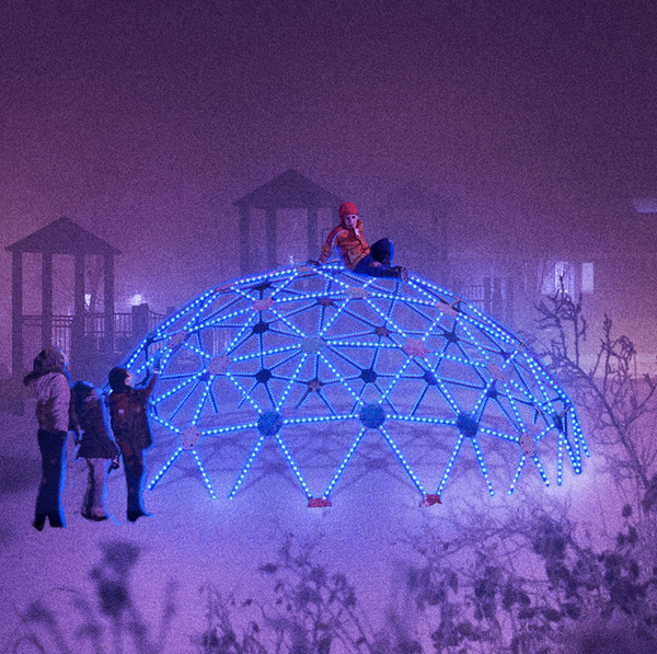 HYPER ISLAND PROJECT//   Creating interactive playgrounds with light