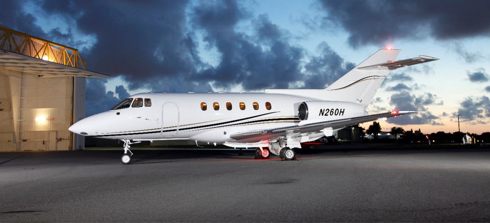 The Hawker 800 brings a new midsize option to Elite Air's Florida-based charter customers.