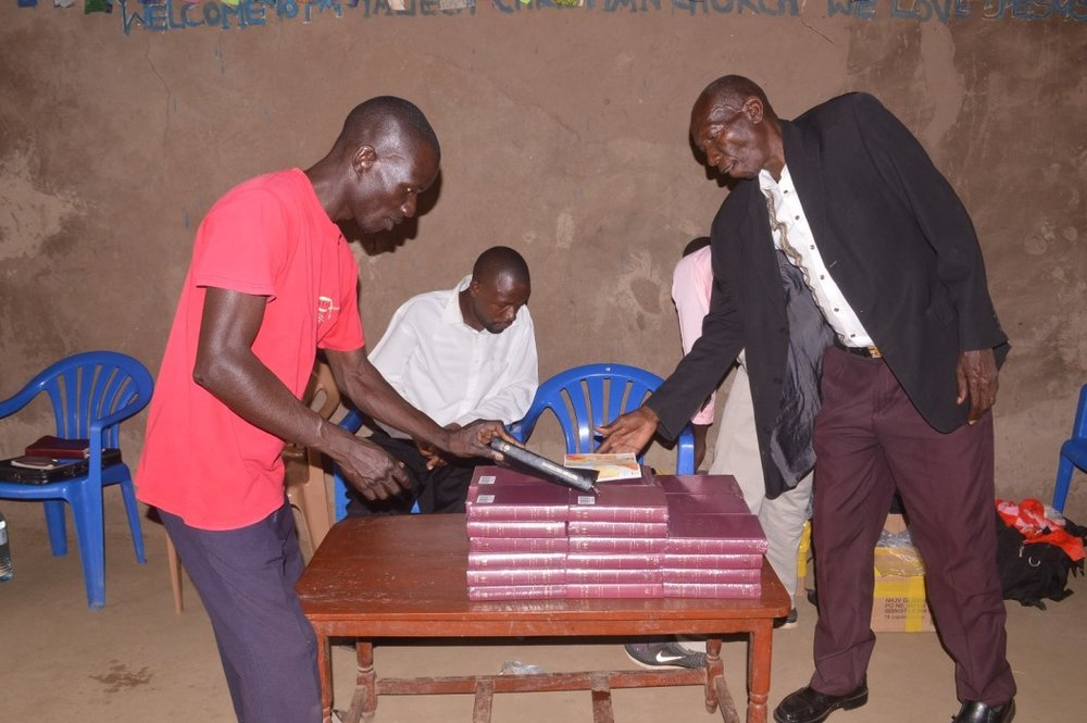 2016 conference bibles for uganda we had a team of pastors and church leaders who joined the conference from mwelo and mulanda where we had our and conferences we also had two