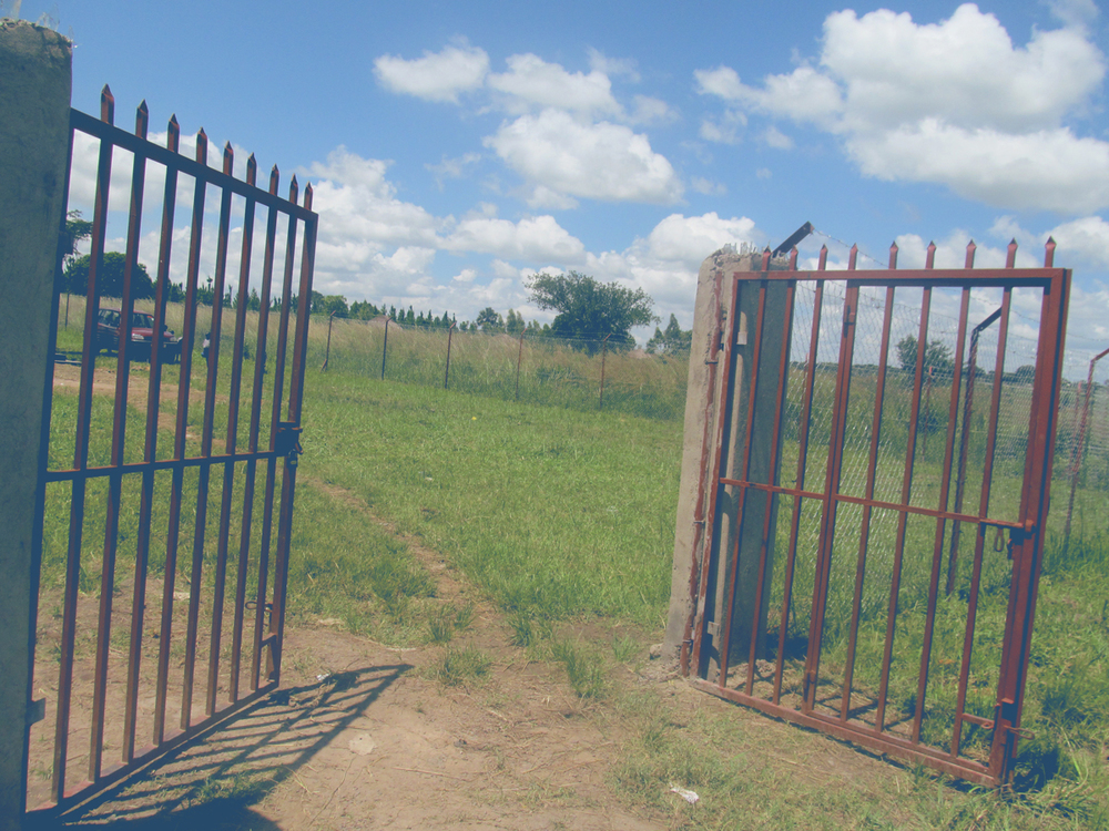 Permanent Fence/Gate Completed – September 2014