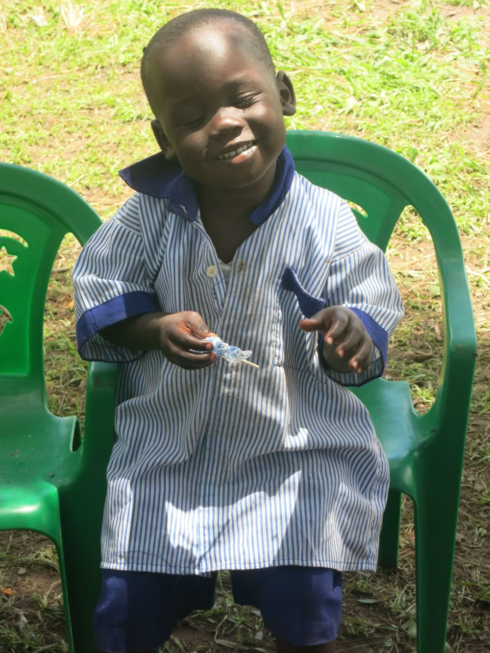 Meet Brian, one of the youngest at the school