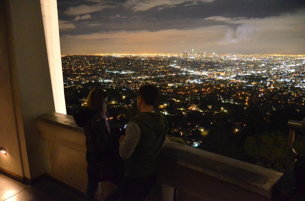 Couple's glow