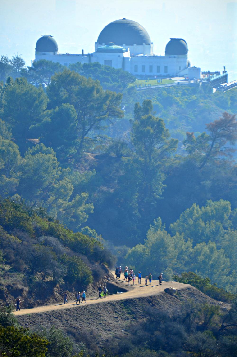 Hazy trail