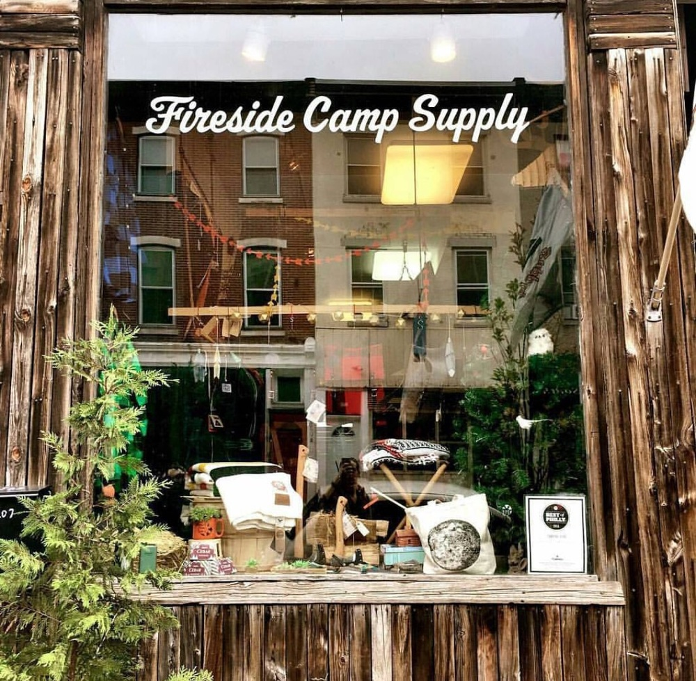 www.firesidecampsupply.com 2207 South St, Philadelphia PA