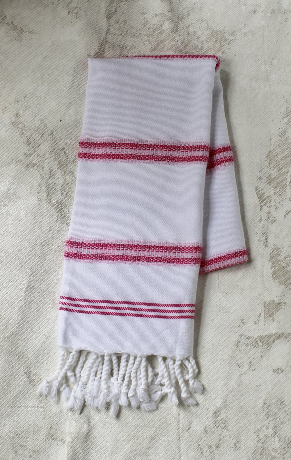 Peskir - Bengal Striped pink - $22