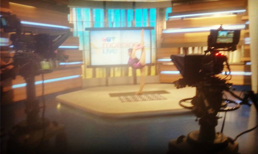 The the CTV morning show promoting Living Arts, 2015