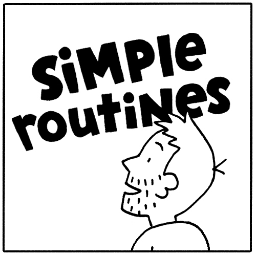 Simple Routines Comic