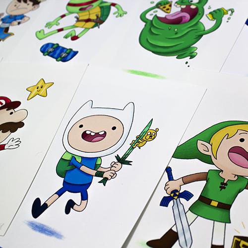 RGB Hero Art Prints