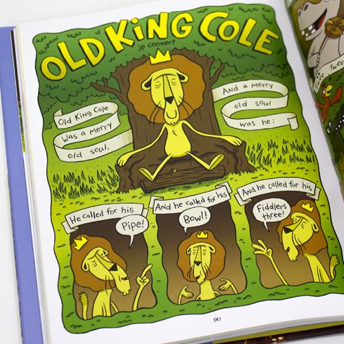 Old King Cole Nursery Rhyme Comic