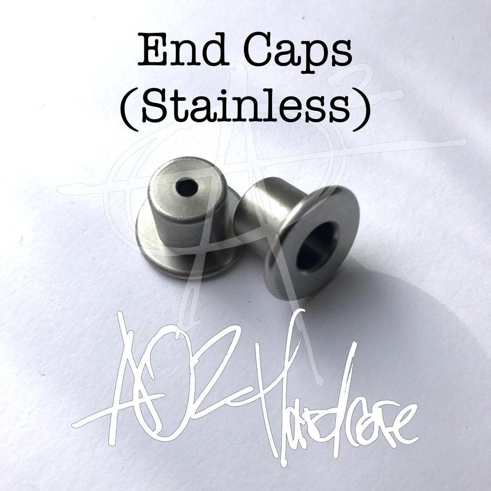 End caps stainless — aroundsquare