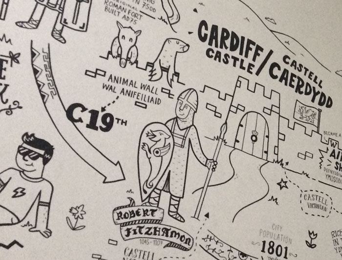 The history of Cardiff from the Castle to the industrial past of Cardiff Bay gives visitors an idea of what to visit.