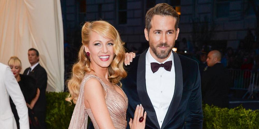 We usually don't include the men, but Ryan Reynolds gave Blake's jewelry an extra pop with his matching bow tie.